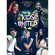 Kids united. Vol. 1 : partition piano facile et partition avancée piano, guitare et chant | Kids United