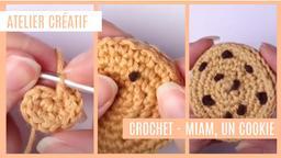 Atelier créatif : Crochet - Miam, un cookie | Réseau des médiathèques de Massy. Collectivité éditrice