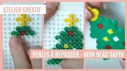 Atelier créatif : Perles à repasser - Mon beau sapin | Réseau des médiathèques de Massy. Collectivité éditrice