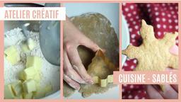 Atelier créatif : Cuisine - Sablés | Réseau des médiathèques de Massy. Collectivité éditrice