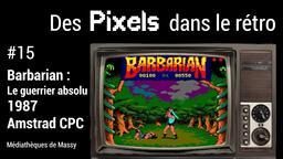 Barbarian : Le Guerrier Absolu (1987). 15 | Réseau des médiathèques de Massy. Collectivité éditrice
