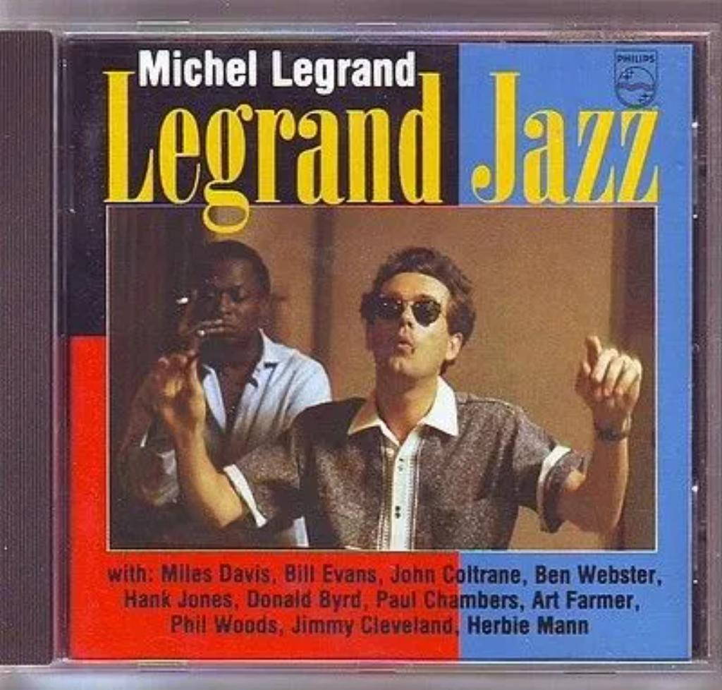 Legrand jazz / dir. Michel Legrand   Legrand, Michel (1932-2019). Chef d'orchestre