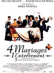 Quatre mariages et un enterrement = 4 mariages et un enterrement / réalisé par Mike Newell | Newell, Mike. Monteur