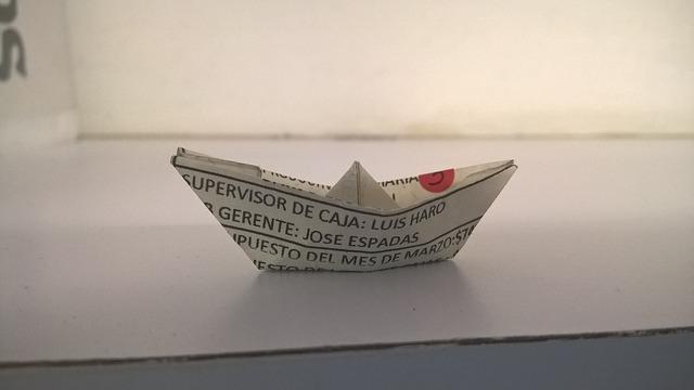 Atelier : Des poissons, des bateaux… en papier |